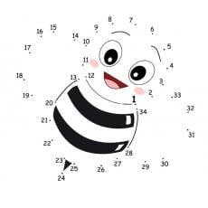 polacz-cyferki-pszczola