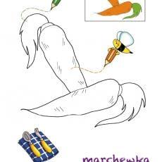 kolorowanki-jedzenie-marchewka