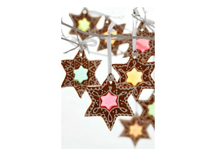 Ozdoby świąteczne Jak Zrobić Pierniki Z Witrażem